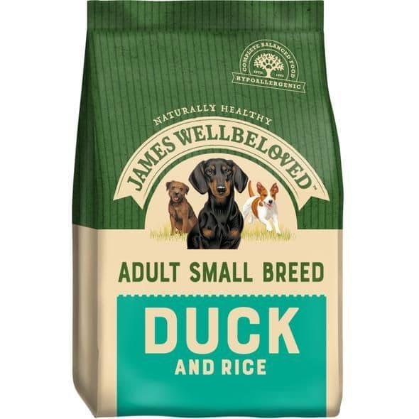 J/w adult small breed duck & rice